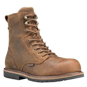 "Timberland Shoes - MEN'S TIMBERLAND PRO® MILLWORKS 8"" COMP TOE BOOTS"